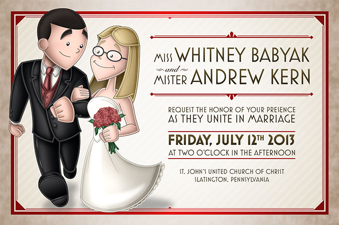 Kern/Babyak Invitations