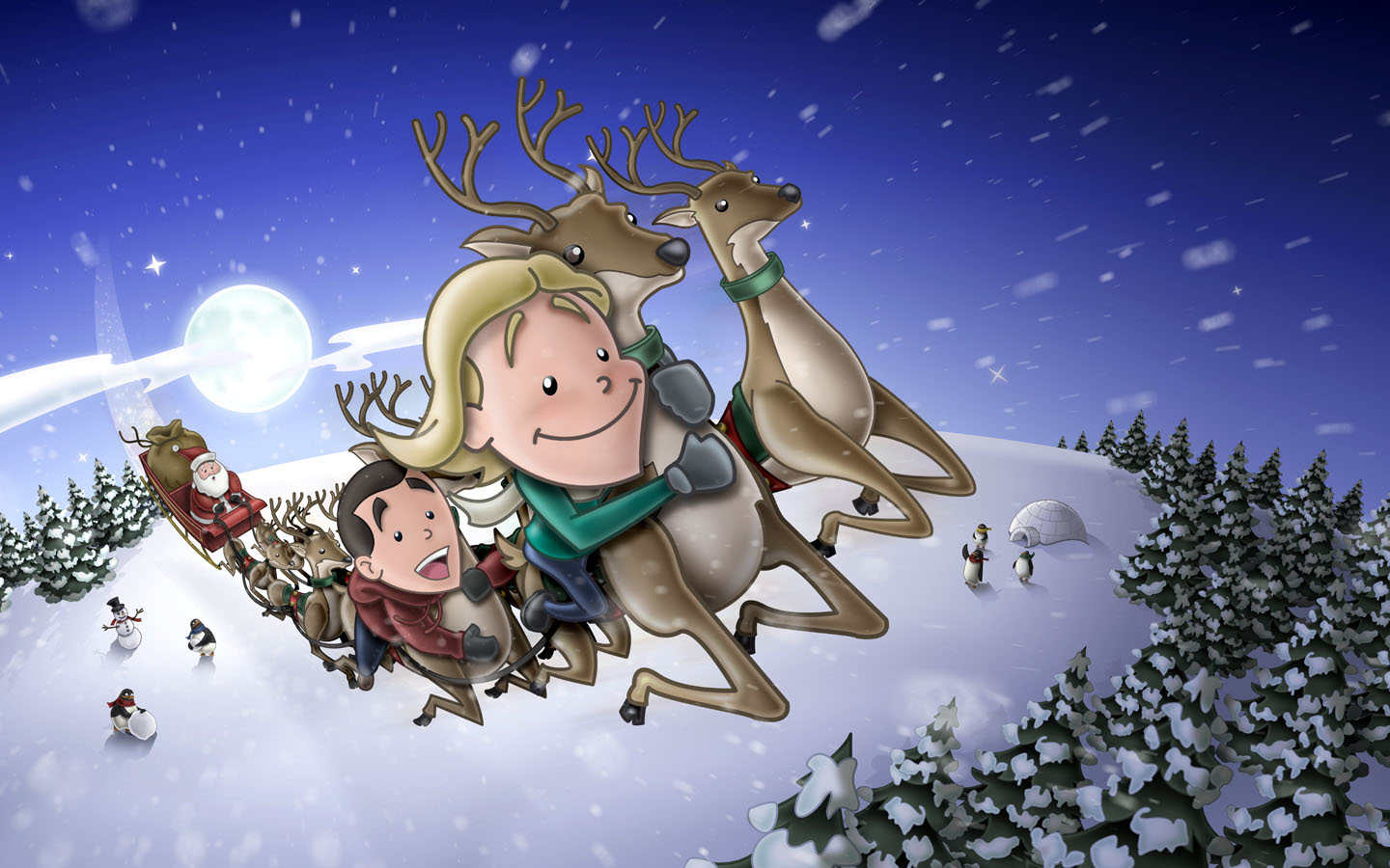 Kernie Cam Productions: Gallery: Sleigh Stowaways (2007)
